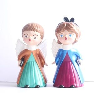 Other - Duo of Angel figurines for Christmas